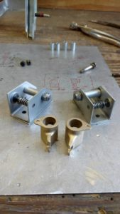 Seat track components