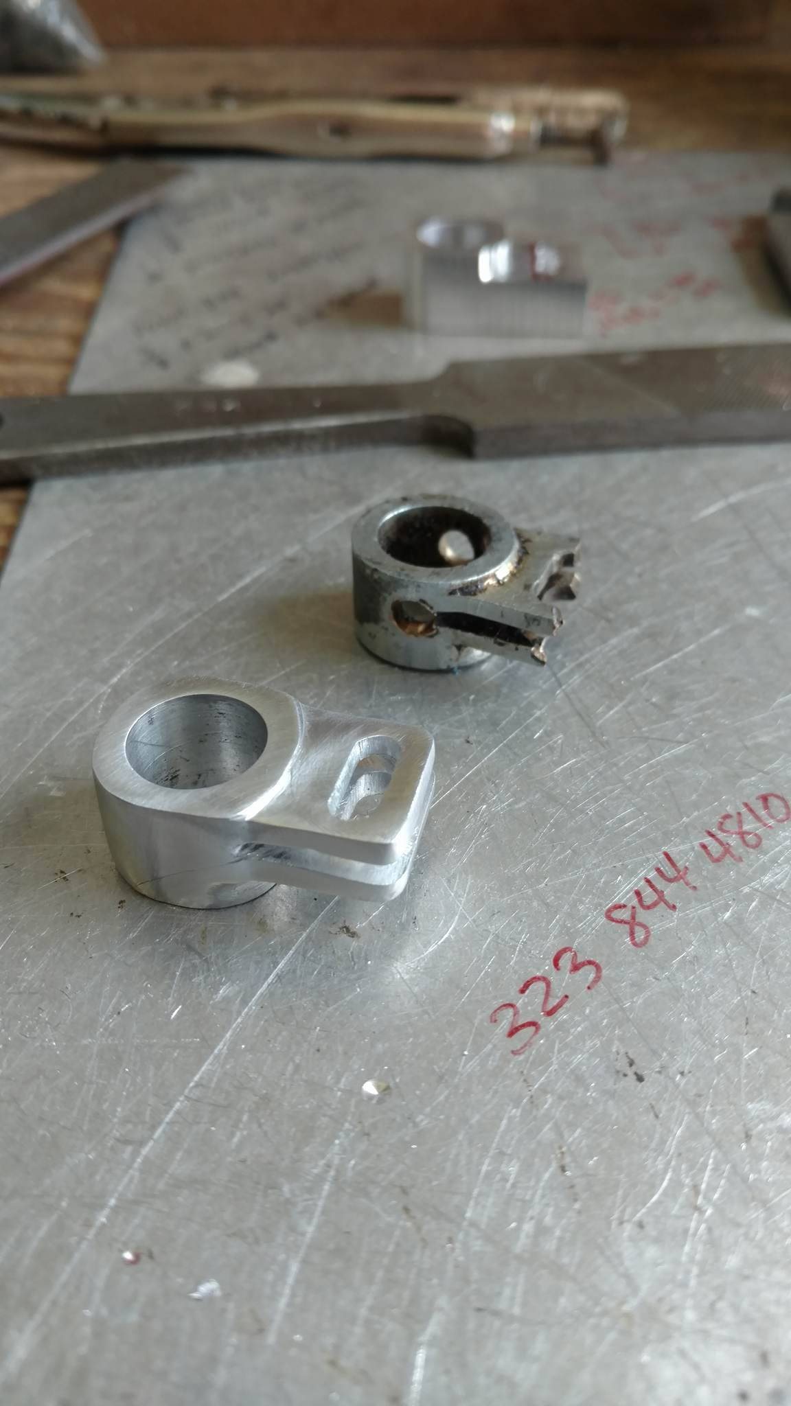 Machined seat track components