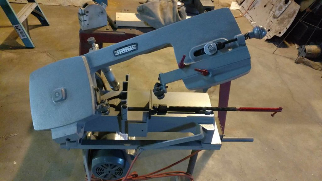 Restoration of old portable band saw
